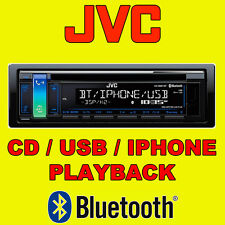 JVC CAR CD USB RADIO STEREO TUNER HEAD UNIT PLAYER ANDROID iPHONE BLUETOOTH NEW