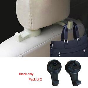 car headrest seat back hooks coat holder bag hanger storage organizer for nissan. Black Bedroom Furniture Sets. Home Design Ideas