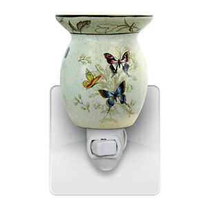 Wall Night Light Target : Butterfly Wall Plug In Scented Oil Tart Burner Warmer Night Light Lamp Gift 539 eBay