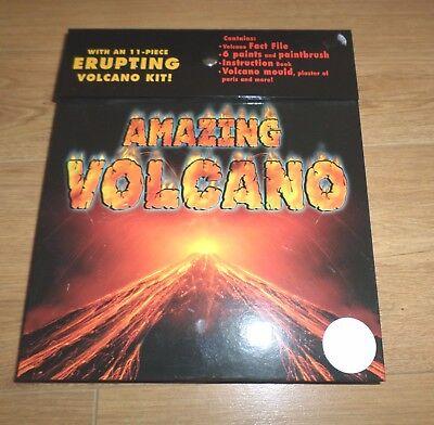 11 Pezzi Kit Vulcano In Eruzione-età 8+ Nuovo-mostra Il Titolo Originale Essere Accorti In Materia Di Denaro