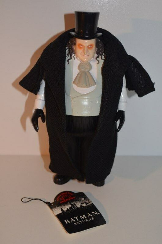 0007 BATMAN Returns Penguin action figure doll vinyl 23cm - Applause