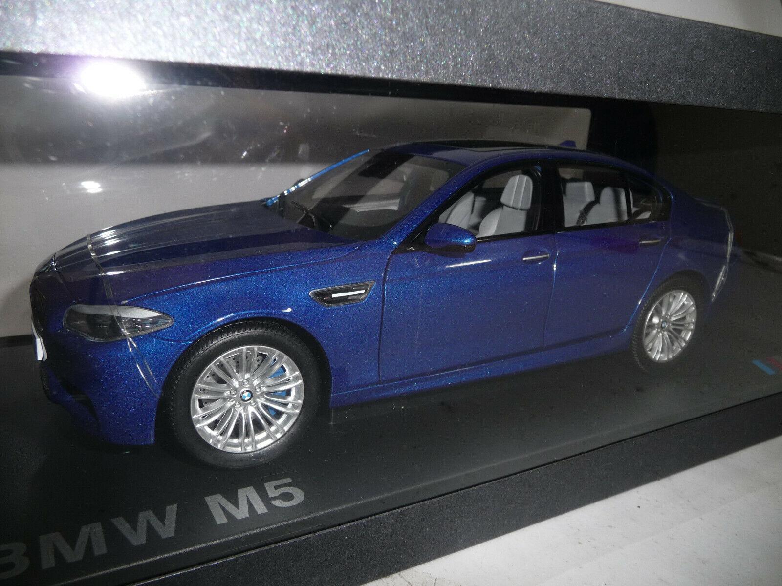 BMW 5er m5 f10 Limousine Monte Carlo Blue 1:18 Paragon spacciatore