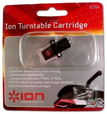 ION ICT04 Replacement Cartridge For Turntable