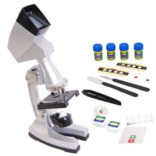 DynaSun TMPZ-C1200 Microscopio Proiezione Parete 1200x con Proiettore Accessori