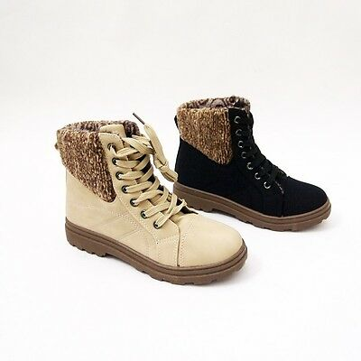 Accurato Scarpe Donna Sneakers Fashion Polacchine Stivaletti Imbottiti Basse Lacci 3007 Perfetto Nella Lavorazione