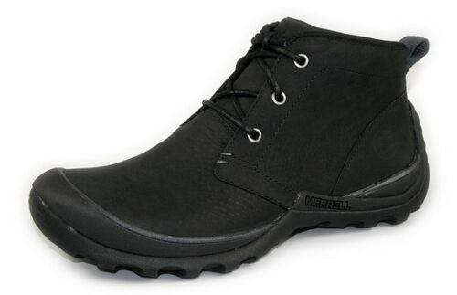 MERRELL /'Argil Mid/' Men/'s Black Leather Ankle Boots