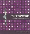 Crossword Over 200 Challenging Puzzles With Pencil by Paperback Book (eng