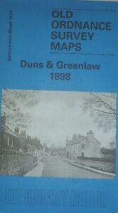 Old-Ordnance-Survey-Maps-Duns-Greenlaw-Berwickshire-Scotland-1898-Godfrey-Edit