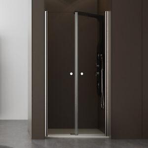 Box doccia nicchia 100 anta doppio battente trasparente new design bagno moderno ebay - Doccia design moderno ...