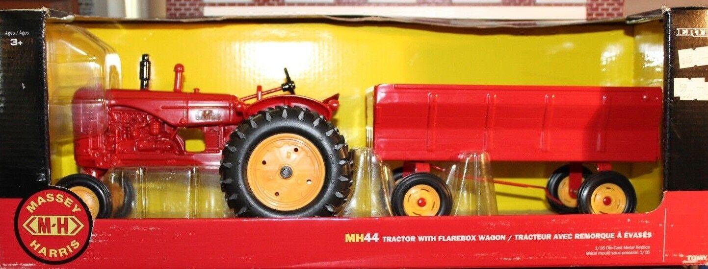 1947 Massey Harris Tractor 44 Tractor Harris con flarebox Vagón - 2018 Ertl 116 escala 16283 c0d0fb