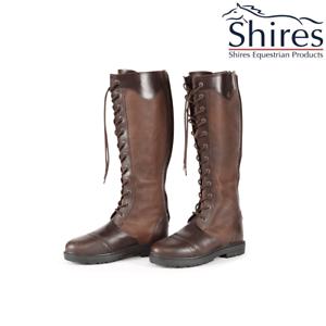 Shires Moretta Ariana Con Cordones botas Largas