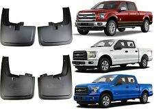 Genuine OEM Ford Mud Flaps Splash Guards For 2015-2016 Ford F-150 New Free Ship