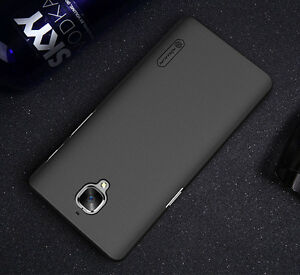 more photos a6268 d857c Details about NILLKIN Frosted Shield Case Cover+ Screen Protector For  OnePlus 3 3T Three Black