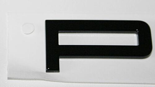 Brillo negro para Porsche 991 970 981 958 boxster cayman Macan en letras nuevo