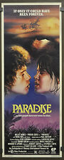 PARADISE 1982 ORIGINAL MOVIE POSTER 14X36 WILLIE AAMES PHOEBE CATES
