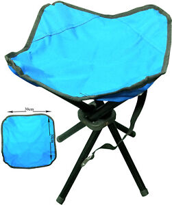 FOLDING-PORTABLE-4-LEGS-STRONG-CAMPING-STOOL-CHAIR-SEAT-HIKING-FISHING-BBQ-NEW