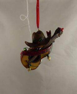 Cowboy-at-heart-hat-guitar-Christmas-ornament-Kurt-S-Adler-xmas