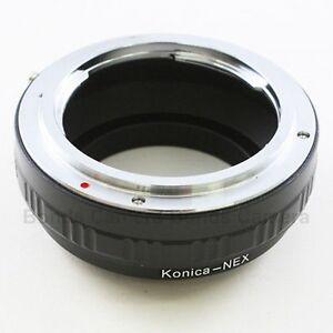 Konica-NEX-Konica-AR-Objektiv-zu-Sony-NEX-Kamera-Adapter-UK-Verkaeufer
