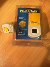 Plug & Safe PS8 Home Motion Sensor with RX6 Siren