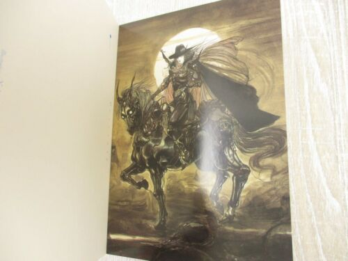 VAMPIRE HUNTER D Postcard Book II 2 w//Sticker YOSHITAKA AMANO Art Book *