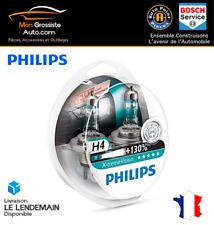 Philips H4 Xtreme Vision +130% (2Pcs) Ampoules de Voitures 12342XV+S2