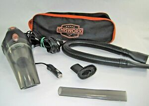 This Worx 12V Portable Car Vacuum Cleaner High Power Long Corded Handheld CVideo