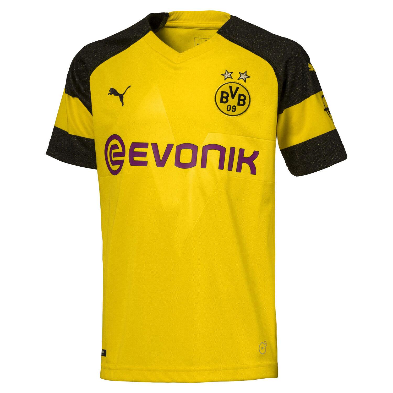 Puma BVB Borussia Dortmund Kinder Heimtrikot Junior Trikot 2018/2019 2018/2019 Trikot - 753312-01 bebf43