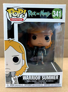 Funko POP Warrior Summer Animation, 341 Rick and Morty
