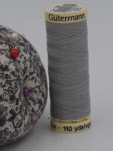 GUTERMANN-Sew-All-Thread-100-Polyester-100m-GREY-38