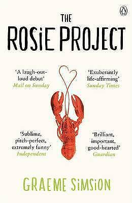 1 of 1 - The Rosie Project, By Simsion, Graeme,in Used but Acceptable condition