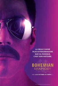 BOHEMIAN RHAPSODY - Affiche cinema PLIEE 40X60 - 120x160 Movie Poster