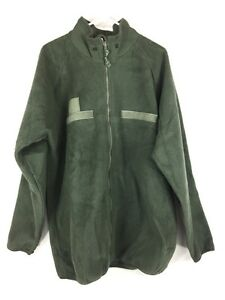 Military ECWCS Level 3 Foliage Green US Army Polartec Fleece Jacket Liner