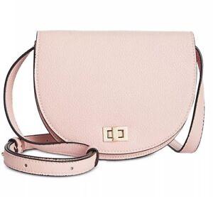 NWT-Steve-Madden-Women-039-s-Luann-Cross-body-Shoulder-Bag-BLUSH-Pink-Mini