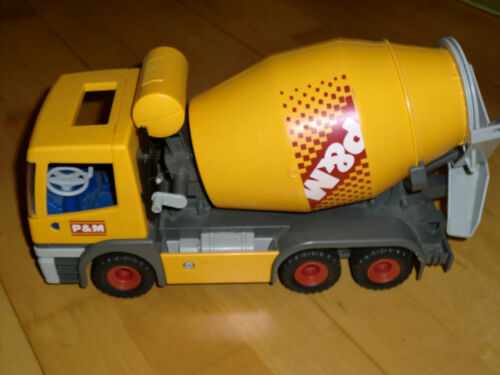 Playmobil 3263 Betonmischer LKW Baustellenfahrzeug Baustelle