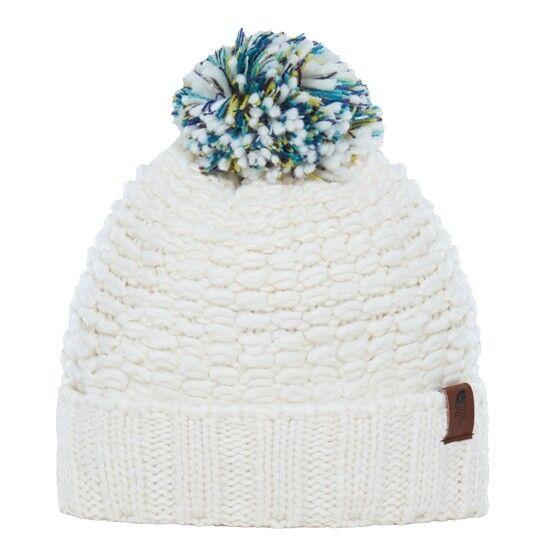 433c73c24eb The North Face Women s Cosy Bobble Hat Outdoor Cap Cream for sale online