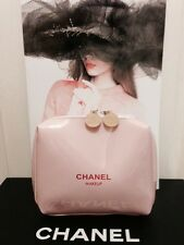 Pink Chanel Cosmetic Bag VIP Gift