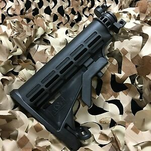 NEW Gen X Global GxG 6 Point Adjustable Collapsible Butt Gun Stock - Tippmann A5
