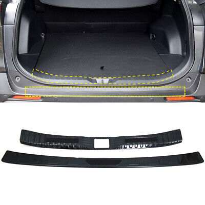 Stainless Steel Rear Bumper Protector Sill Plate Cover For 2013-2017 Toyota RAV4