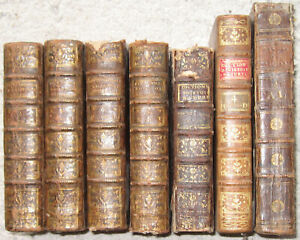 LOT 7 VOL XVIII HISTOIRE NATURELLE ANIMAUX VEGETAUX PLANTES BOMARE GRAVURE 1764