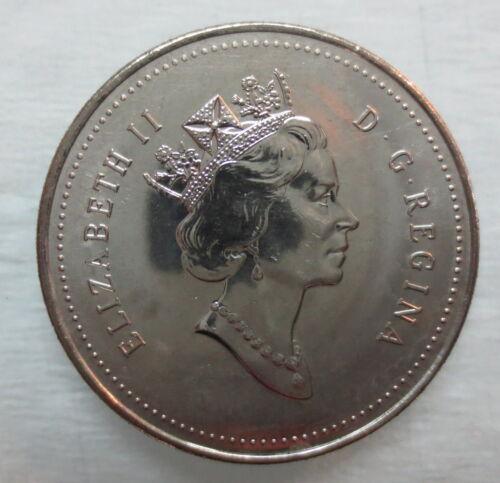 1993 CANADA 50¢ HALF DOLLAR COIN BRILLIANT UNCIRCULATED