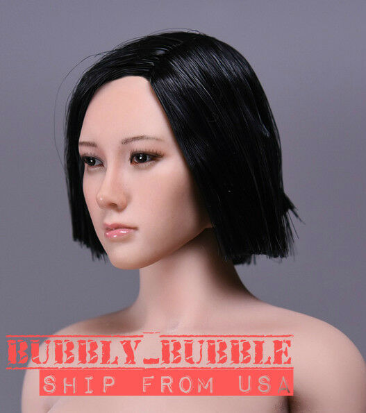 1 6 Asian Female Head Sculpt For For For 12  Phicen TBLeague Figure SHIP FROM USA d4eb9b