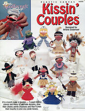 Kissin' Couples Kisses Kissies Squeezies Squeezums plastic canvas patterns