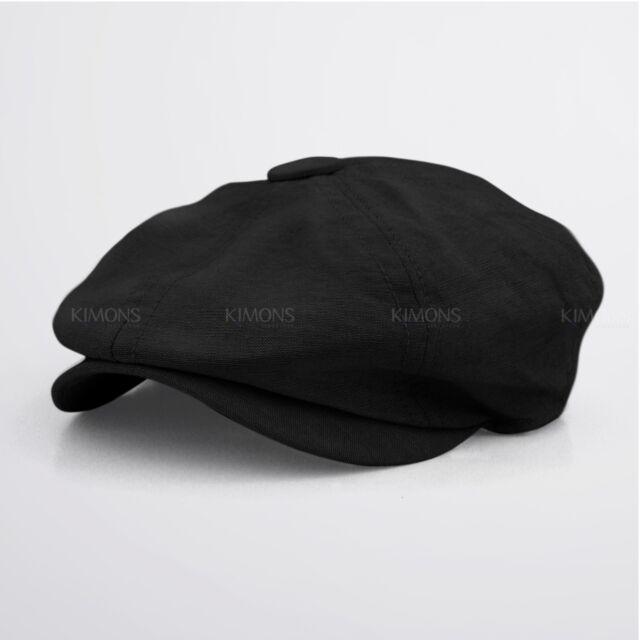 Cabbie Newsboy Gatsby Cap Mens Ivy Hat Golf Driving Summer Sun Flat ... 1837e9107e6f