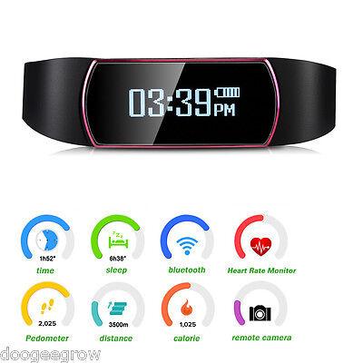 OLED Smart Bracelet Montre IP67 étanche Sport Bluetooth4.0 connectée Android IOS