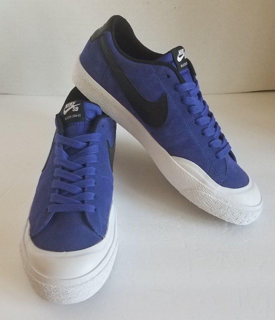 Nike sb blazer zoom niedrigen xt 864348-501 blaue größe größe größe 11. a8753c
