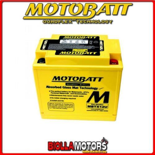 MBTX12U BATTERIA YTX12-BS HONDA VFR750F 750 1987-1989 MOTOBATT YTX12BS