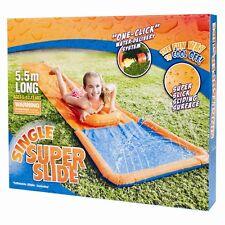 8FT BESTWAY DASH N SPLASH CHILDERN GARDEN SPRAY WATER SLIDE GAME TOY