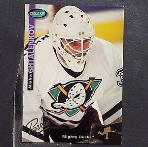 MIKHAIL-SHTALENKOV-1994-95-Parkhurst-GOLD-4-Anaheim-Ducks