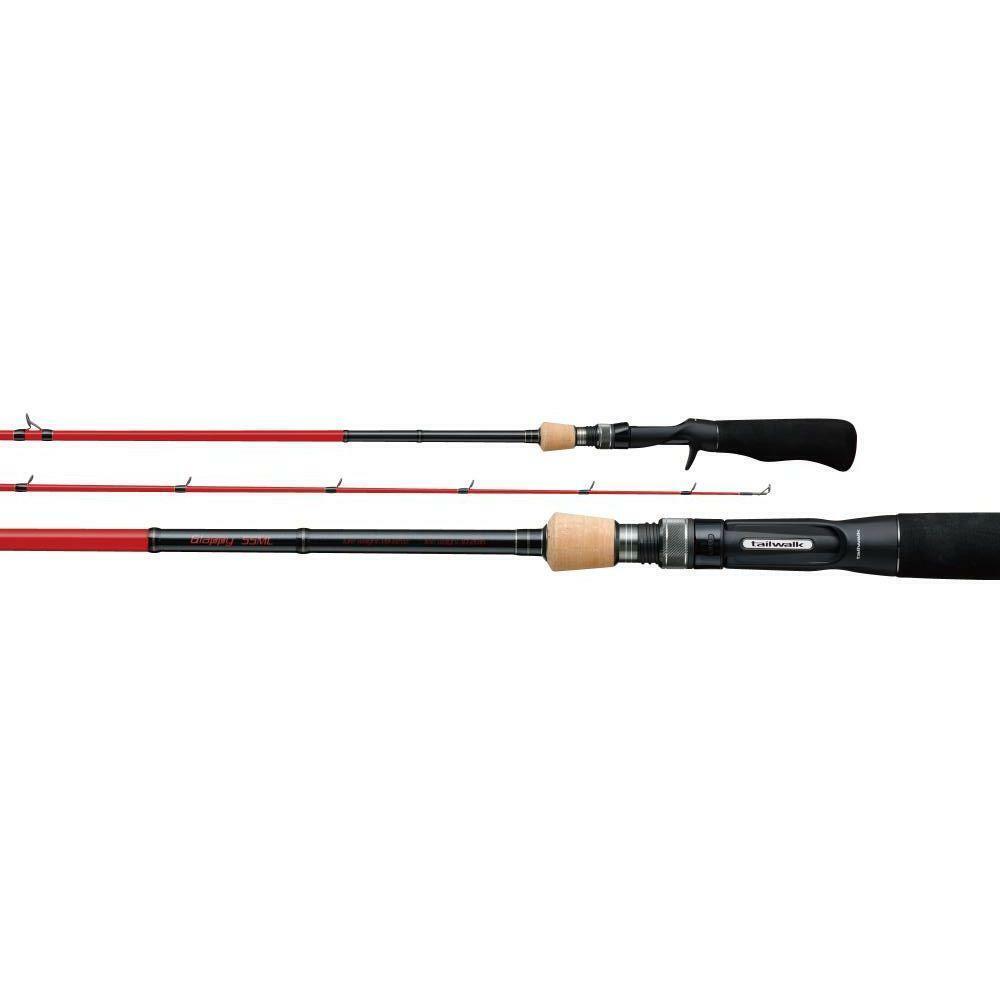 Tailwalk GLAPPY 55UL Baitcasting Rod for Bass