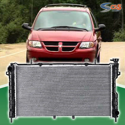 New Premium Radiator for 05-07 Chrysler Town Country Voyager Dodge Grand Caravan